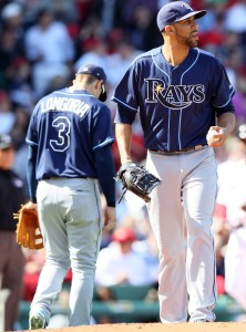 Tampa Bay Rays v Boston Red Sox