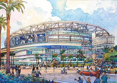 Remembrance of the Rays Sail Stadium…5 Years Later « Rays ...